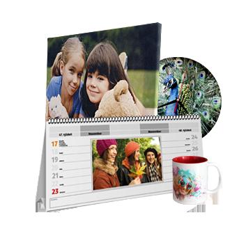 Fotoobraz, kalendár, hodiny a šálka s vlastnou fotkou
