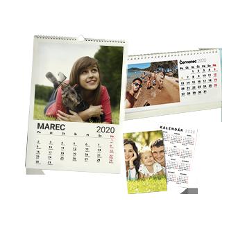nástenný, stolový, vreckový kalendár